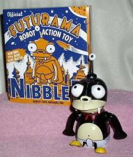 Buy Futurama Nibbler Tin Wind up Robot Hard to find