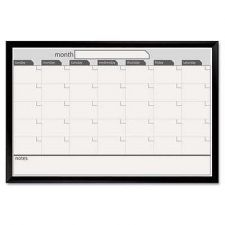 Buy 24 Inchx36 Inch Black Aluminum Framed Magnetic Dry Erase Calendar Whiteboard Mar