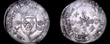 Buy 1551-R French Douzain Aux Crescent World Coin - France Henry II