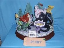 Buy DISNEY Little Mermaid Laurenz Capodimonte figurine RECONDITIONED