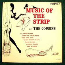 Buy THE COUSINS ~ Music Of The Strip Vintage 1961 Jazz / Pop LP