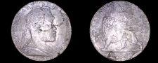 Buy 1892 Ethiopian 1 Birr World Silver Coin - Ethiopia - Mount Removed