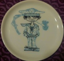 "Buy ** FURSTENBERG 4"" Saucer ** Very Nice Condition-Sailor / Made in Germany"