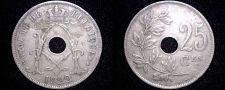 Buy 1922 Belgian 25 Centimes World Coin - Belgium