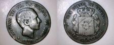 Buy 1878-OM Spanish 10 Centimos World Coin - Spain