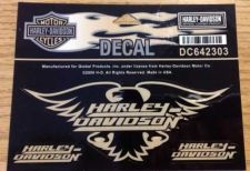 "Buy Authentic Harley-Davidson Eagle Decal 5"" NEW - Made In USA- Officially Licensed"