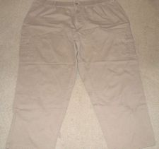 Buy Men's Harbor Bay Casual Tan Pants 3X Length 30 - 100% Cotton