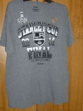 Buy Los Angeles Kings Shirt Men's NHL Hockey sz L Stanley Cup Final 2014