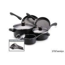 Buy Non-Stick Cookware Set 12 pc. Pot Pan Dutch Oven Safe Skillet BONUS Utensils