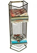 Buy Lay-Flat Storage Steel Rack Wall-Mounted Office Holder Tower Sports CD Magazine
