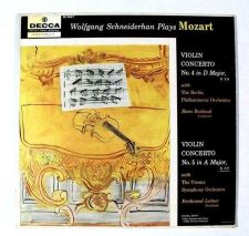 Buy MOZART ~ Violin Concerto No. 4 In D Major / Violin Concerto No. 5 In A Major LP