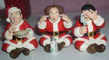 Buy Three Stooges Larry Moe Curly Speak no evil hear no evil see no evil Slapstick
