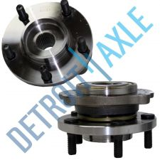 Buy Pair of 2 - NEW Rear Driver and Passenger Wheel Hub and Bearing Assembly w/ AWD