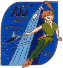 Buy Disney 100 Years of Magic Peter Pan Japan Big Ben pin/pins