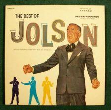 Buy The BEST of AL JOLSON ~ 1967 Double Album LP