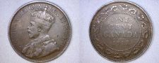 Buy 1917 Canadian 1 Large Cent World Coin - Canada
