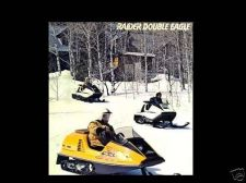 Buy RAIDER HAWK & DOUBLE EAGLE SNOWMOBILE PARTS MANUALs