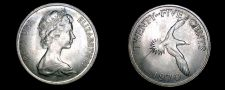 Buy 1970 Bermuda 25 Cent World Coin