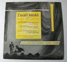 Buy DAVID OISTRAKH ~ Beethoven / Leclair / Khachaturian Classical LP