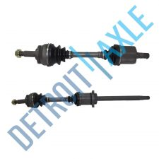 Buy Complete Front Driver and Passenger Side CV Axle Shaft - Automatic w/ ABS