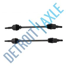 Buy Complete Rear Driver and Passenger Side CV Axle Shaft - AWD - Made in USA