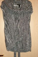 Buy Sweater, Acrylic, Black, Gray,White, Multi-color, Cowl Neck, Large