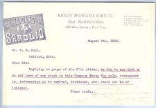Buy New York New York City Letterhead / Billhead Enoch Morgan's Sons Co. 439 W~70