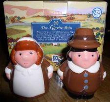 Buy Thanksgiving Salt & Pepper Pilgrim Children