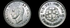 Buy 1943 Great Britain 3 Pence World Silver Coin - UK