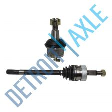 Buy New Complete FRONT Driver CV Axleshaft + Lower Ball Joint 4WD USA Made
