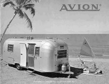 Buy AVION TRAILER RV OPERATIONS TECH MANUAL for 1966 1967 1968 1969 Camper Service