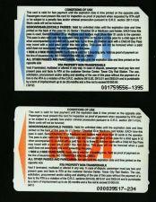 Buy TRANSIT METROCARD RTA .OHIO.CLEVELAND.Set of 2 cards.