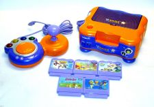 Buy vTECH vSMILE educational learning game system console set w/ EXTRAS V Smile unit