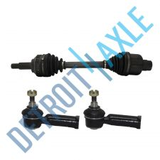 Buy Front Right Ford95-02 DriveAxle Half Shaft ABS V6+ 2 Outer Tie RodsES3470+ES3471
