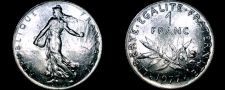 Buy 1977 French 1 Franc World Coin - France