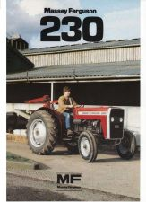 Buy MASSEY FERGUSON MF230 TRACTOR PARTS MANUAL 130pgs w/ MF 230 Parts List Catalog