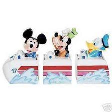 Buy Disney Mickey Goofy Donald 3 Canasters cookie jars