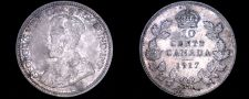 Buy 1917 Canada 10 Cent World Silver Coin - Canada - George V