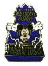 Buy Disney Mickey Mouse Twilight Zone Tower of Terror ride at MGM pin/pins
