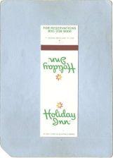 Buy New York Lake Placid Matchcover Holiday Inn ny_box5~1652