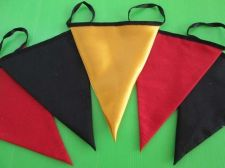 Buy World Cup Germany Fabric Pennant Double Sided Banner Deutschland Flag 180 cm.72""