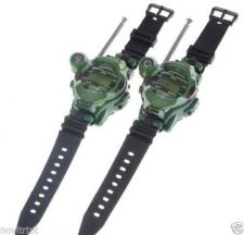 Buy Walkie Talkie with Watch Compass Magnifying Lens Nightlight Function 2Pcs