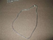 """Buy Sarah Coventry Jewelry..18"""" Silver Flat Rope (Shawlin)Necklace...#1061"""