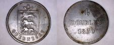 Buy 1830 Guernsey 4 Double World Coin - William IV