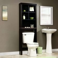 Buy Bathroom Space Saver Bath Cabinet Cherry Furniture Over Toilet Sauder Wood