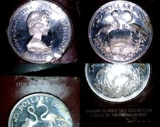 Buy 1973 Bahamas 2 Dollar Proof World Silver Coin