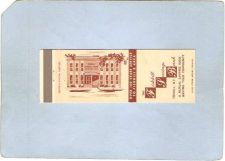 Buy New York Fishkill Matchcover The Fishkill Savings Bank w/Services Listed I~2064