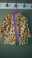 Buy Girl's All Seasons Osh Kosh B'Gosh Ladybug Lined Long Sleeve Raincoat Size 4