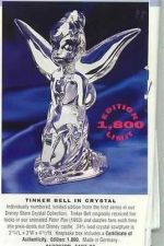 Buy Disney Tinkerbell Peter Pan Crystal Figurine Last one Left get it now