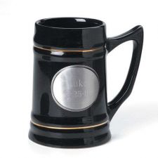 Buy Ceramic Mug w/ Pewter Medallion- Free Personalization
